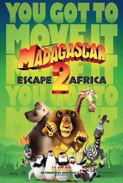 Madagaskar 2 Útěk do Afriky online film