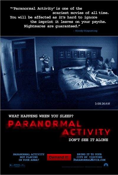 Paranormal Activity 1 online cz