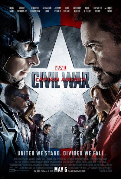 Captain America Občanská válka online cz
